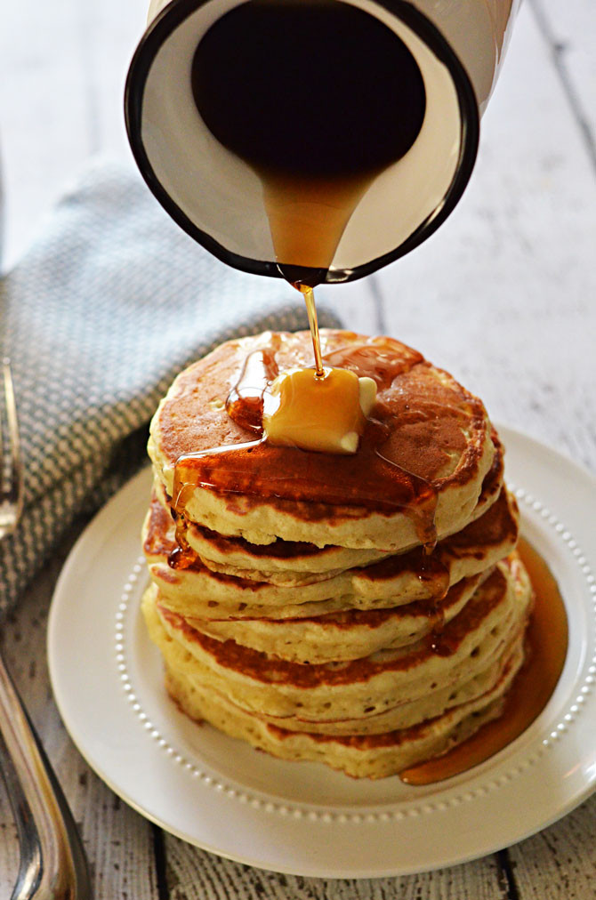 Bisquick Buttermilk Pancakes  Fluffy Old Fashioned Pancakes Host The Toast