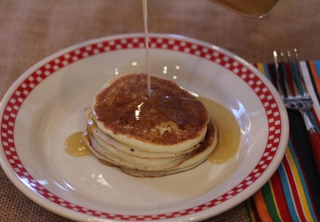 Bisquick Buttermilk Pancakes  Menu Plan Lynn s Kitchen Adventures
