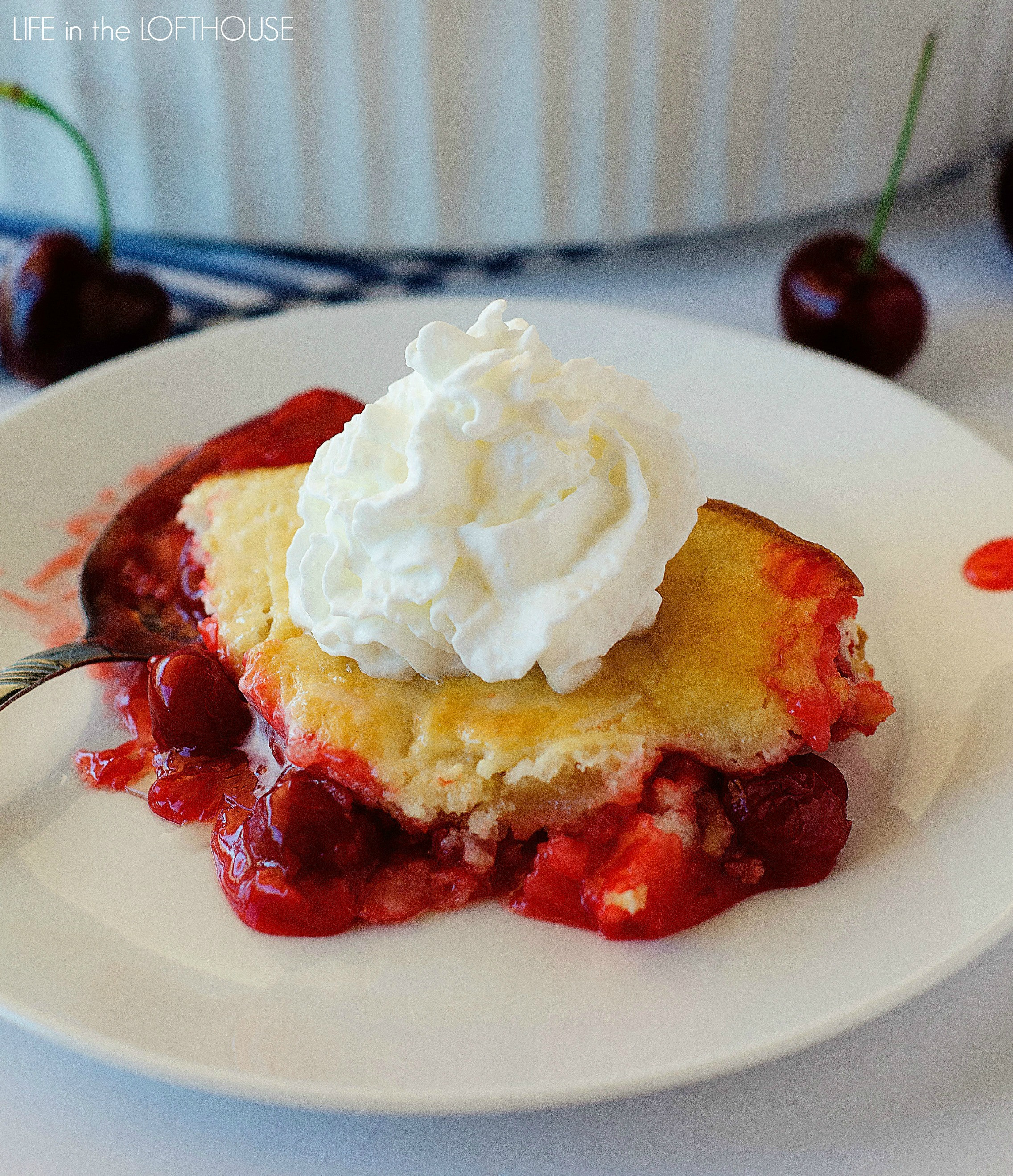 Bisquick Cherry Cobbler  cherry cobbler with canned cherries