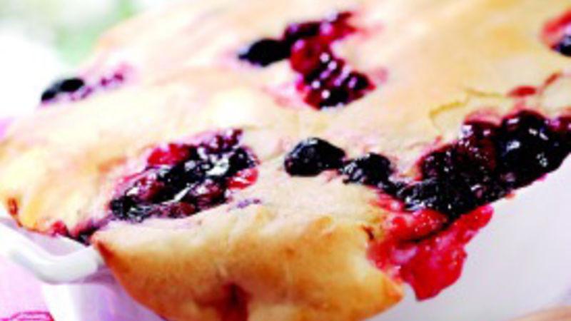 Bisquick Cherry Cobbler  Skillet Cherry Cobbler recipe from Betty Crocker