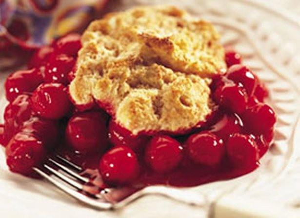 Bisquick Cherry Cobbler  Cherry Cobbler I Recipe — Dishmaps