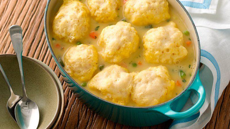 Bisquick Drop Dumplings  Dumplings recipe from Betty Crocker