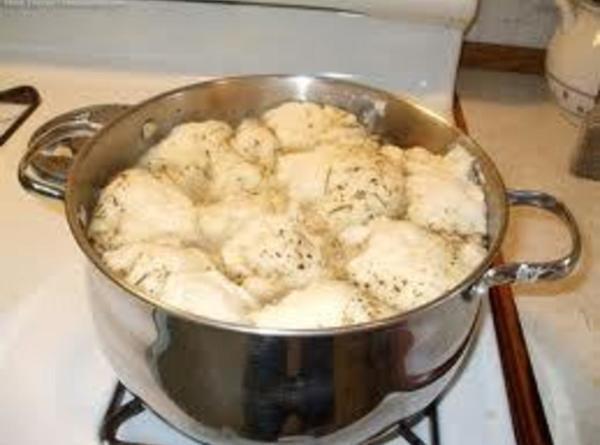 Bisquick Drop Dumplings  Old Time Chicken With Bisquick Dumplings Recipe