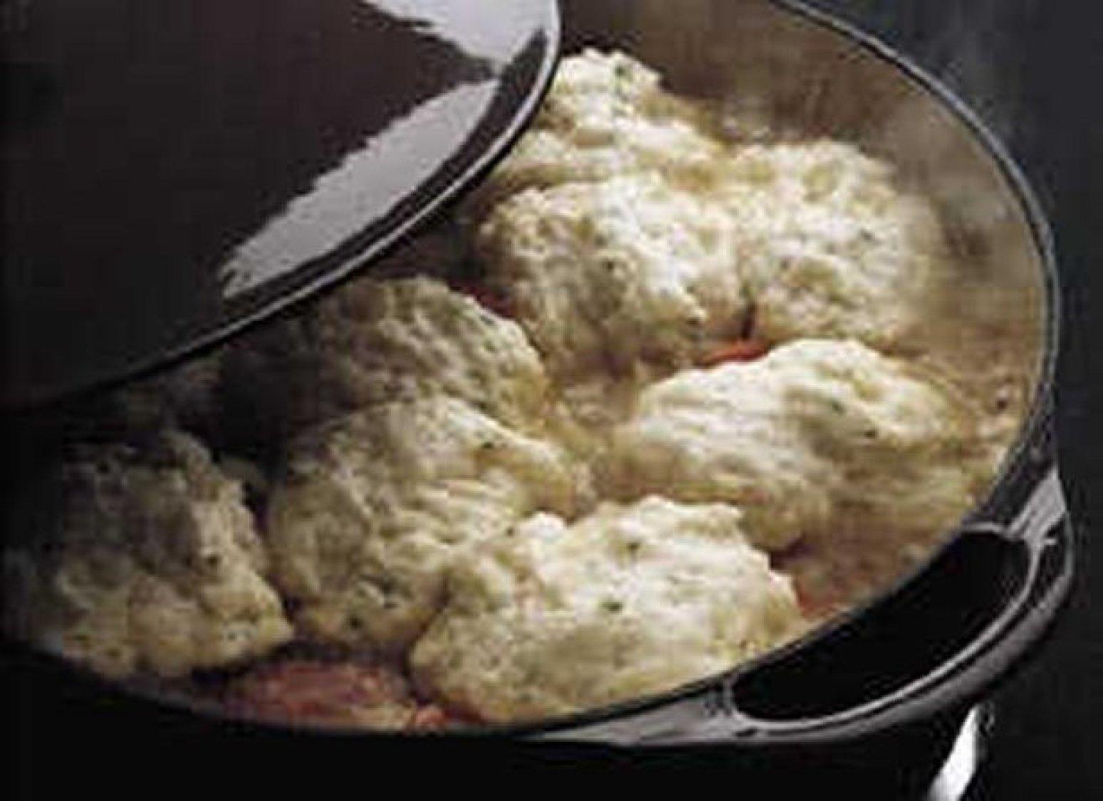Bisquick Drop Dumplings  Dumplings Recipe