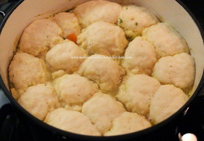 Bisquick Drop Dumplings  bisquick chicken and dumplings recipe on box