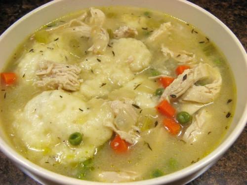 Bisquick Drop Dumplings  Soup's 5 yummy soups for Fall