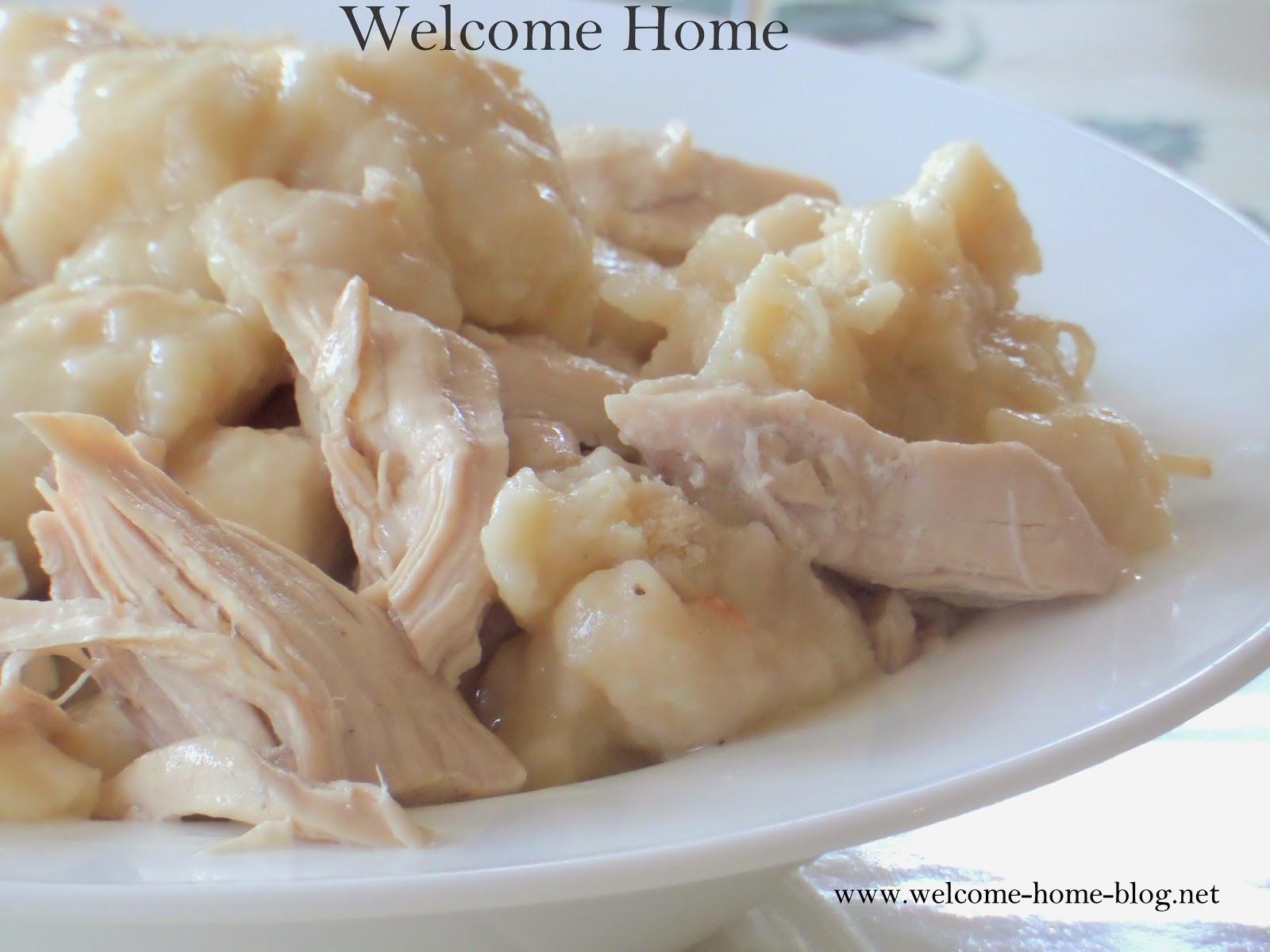 Bisquick Drop Dumplings  Wel e Home Blog ♥ Quick and Easy Chicken And Dumplings