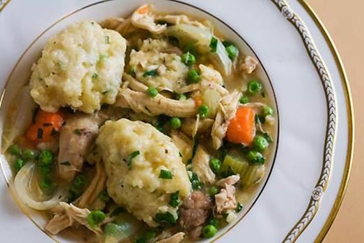 Bisquick Drop Dumplings  Chicken & Dumplings Recipe
