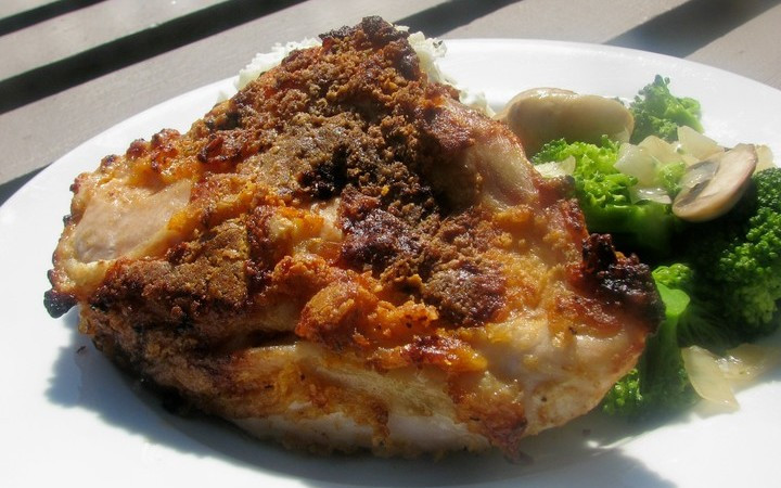 Bisquick Fried Chicken  Oven Fried Chicken Bisquick Recipe Recipezazz
