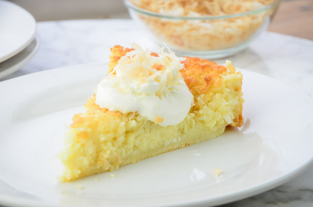 Bisquick Impossible Coconut Pie  It is Possible to Make Impossible Coconut Pie with