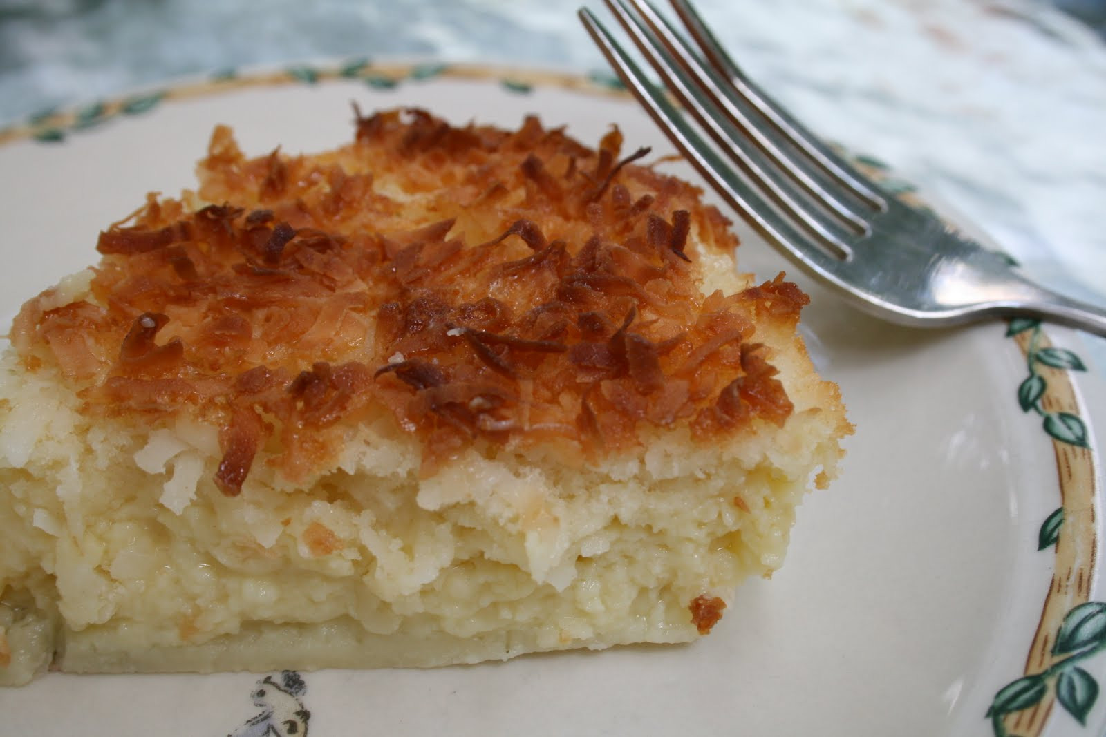 Bisquick Impossible Coconut Pie  Schaeffer Girls Grub Impossibly Easy Coconut Pie