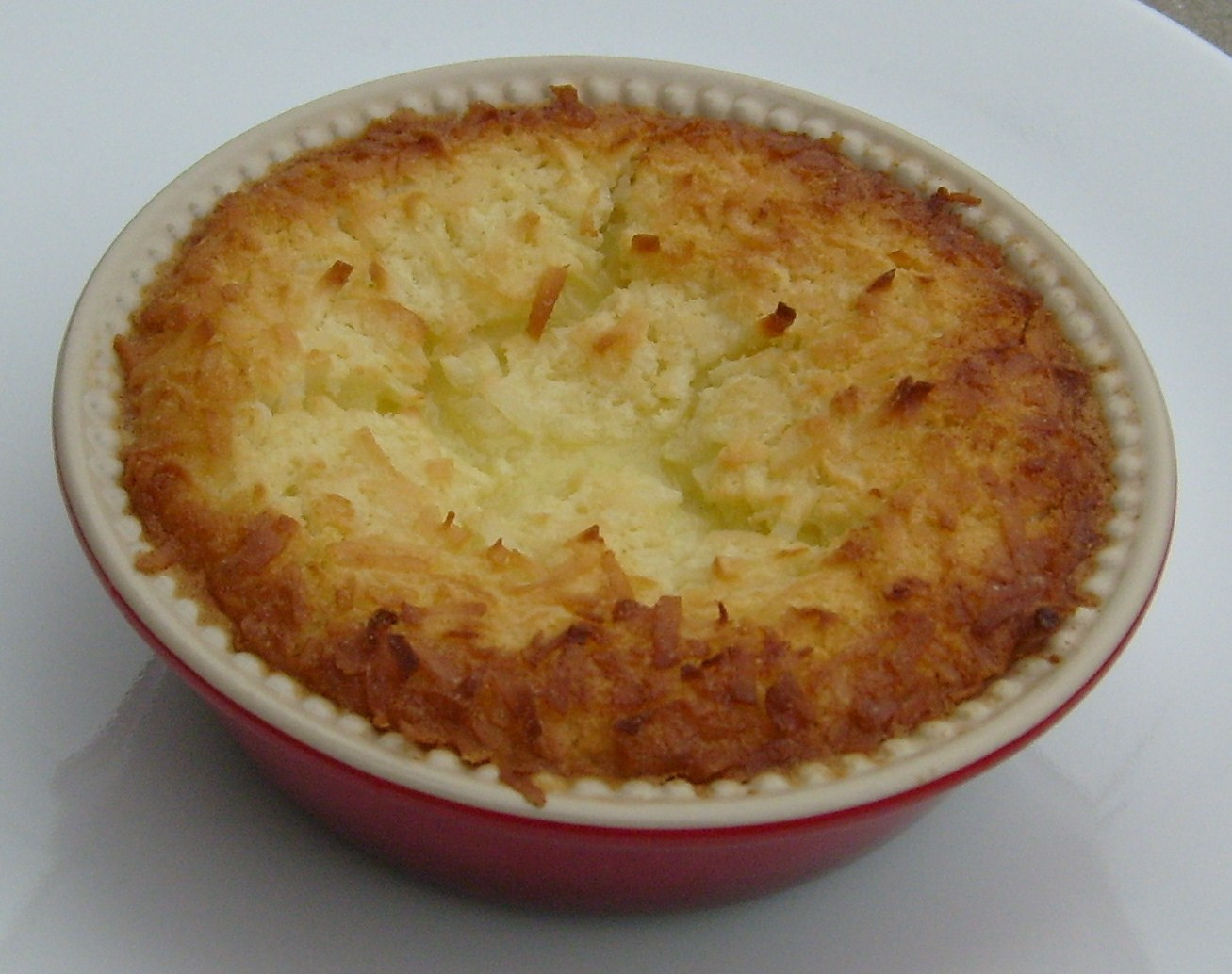 Bisquick Impossible Coconut Pie  Happier Than A Pig In Mud Impossible Zucchini Pie and Dessert