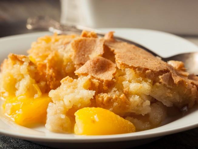 Bisquick Peach Cobbler  Bisquick Peach Cobbler Recipe