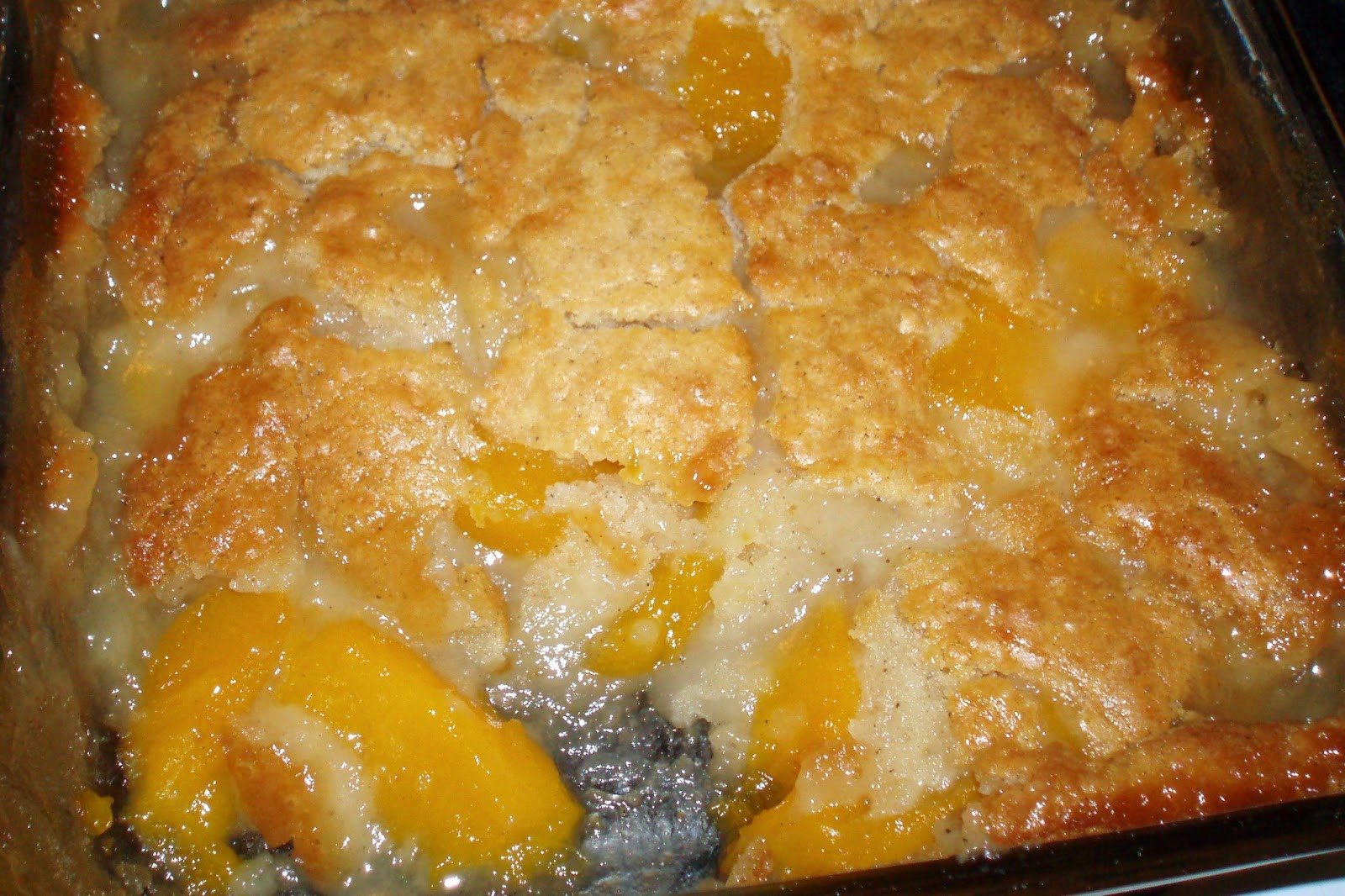 Bisquick Peach Cobbler  Farm Fresh Peach Cobbler Recipe Rural Mom