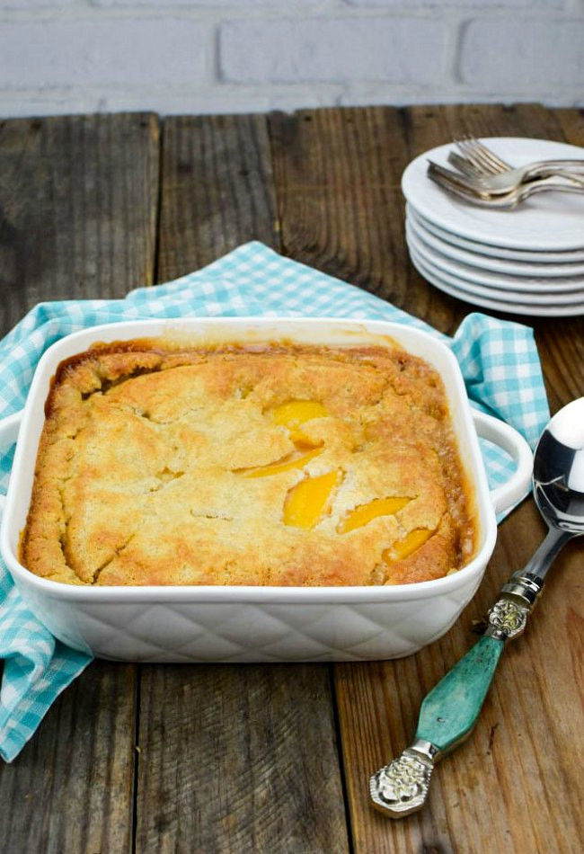 Bisquick Peach Cobbler  Bisquick Peach Cobbler Gonna Want Seconds