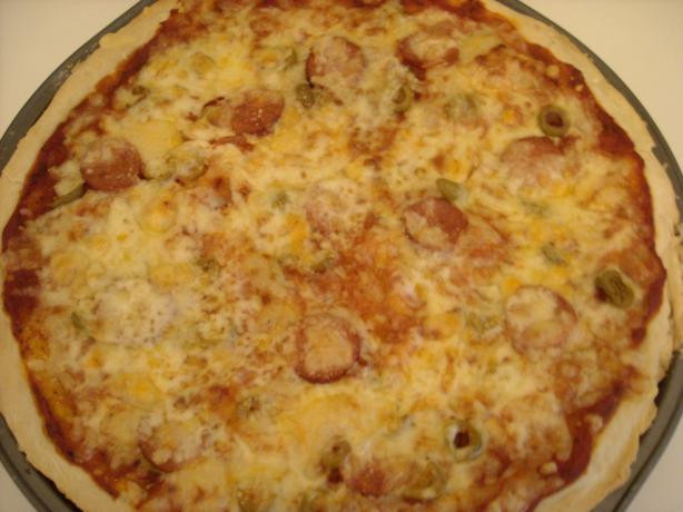 Bisquick Pizza Dough  Astonishingly Easy yeasty Bisquick Pizza Dough Recipe