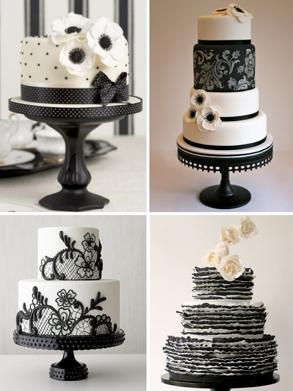 Black And White Cake  Racchi s blog Whether you want an intimate wedding or an