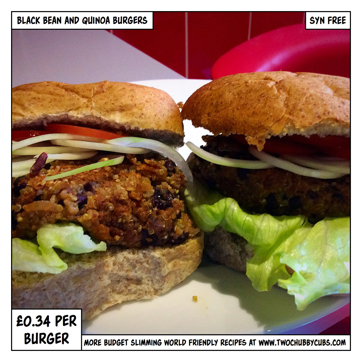 Black Bean And Quinoa Burger  black bean and quinoa burgers twochubbycubs
