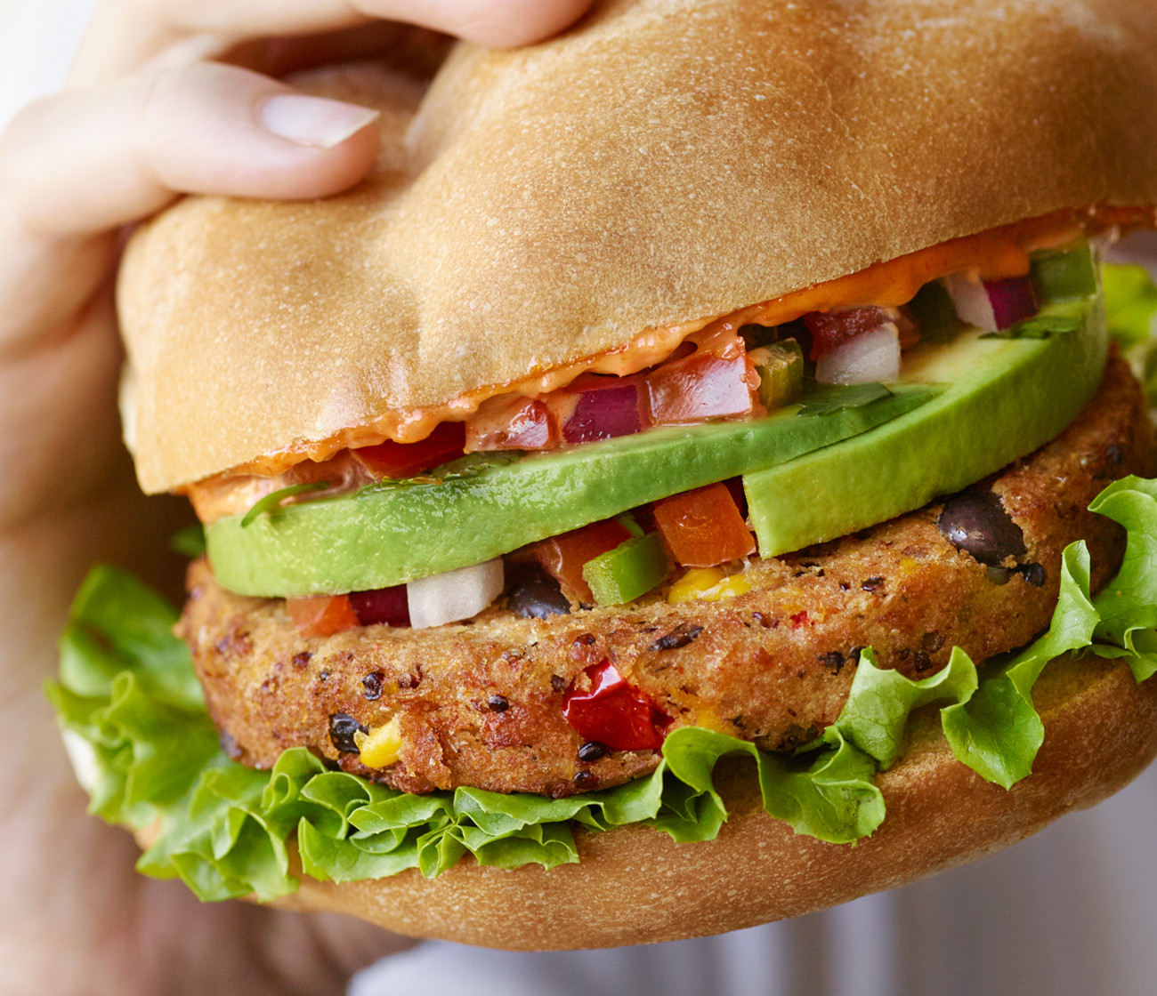 Black Bean And Quinoa Burger  Black Bean Quinoa Veggie Burgers
