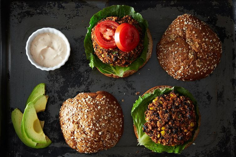 Black Bean And Quinoa Burger  Black Bean and Quinoa Veggie Burgers Recipe on Food52