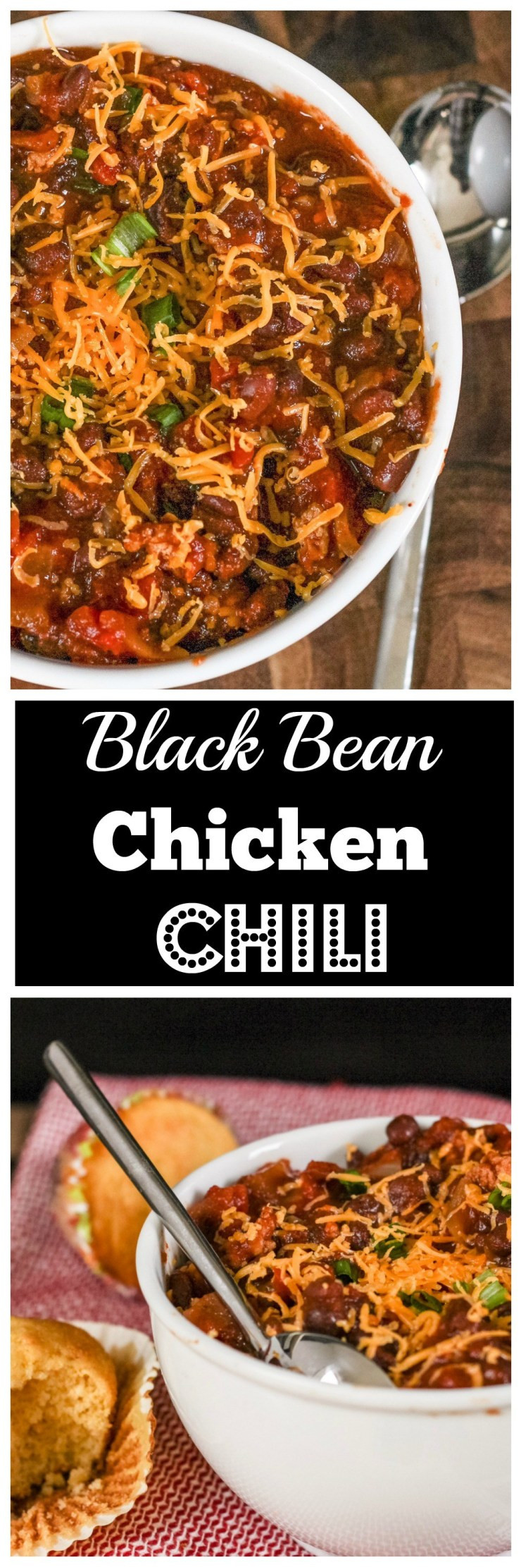 Black Bean Chicken Chili  Black Bean Chicken Chili Just a Little Bite