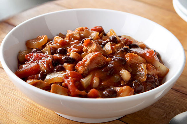 Black Bean Chicken Chili  Black and White Bean Chicken Chili Kraft Recipes