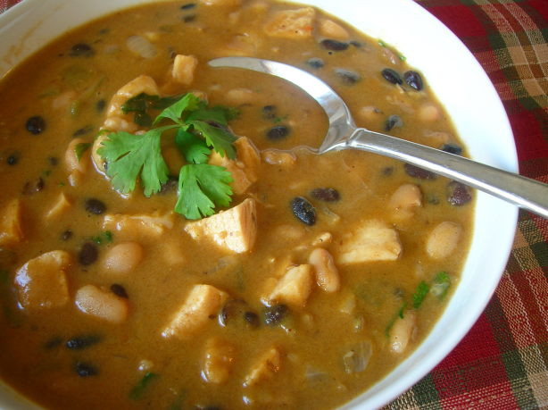 Black Bean Chicken Chili  Black And White Bean Chicken Chili Recipe Food