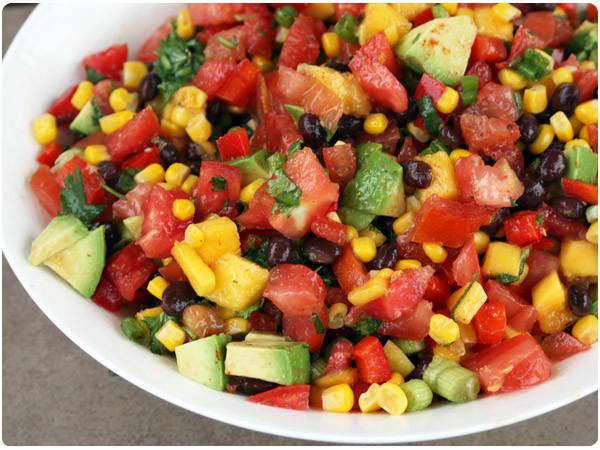 Black Bean Corn Salsa  Mango Corn & Black Bean Salsa