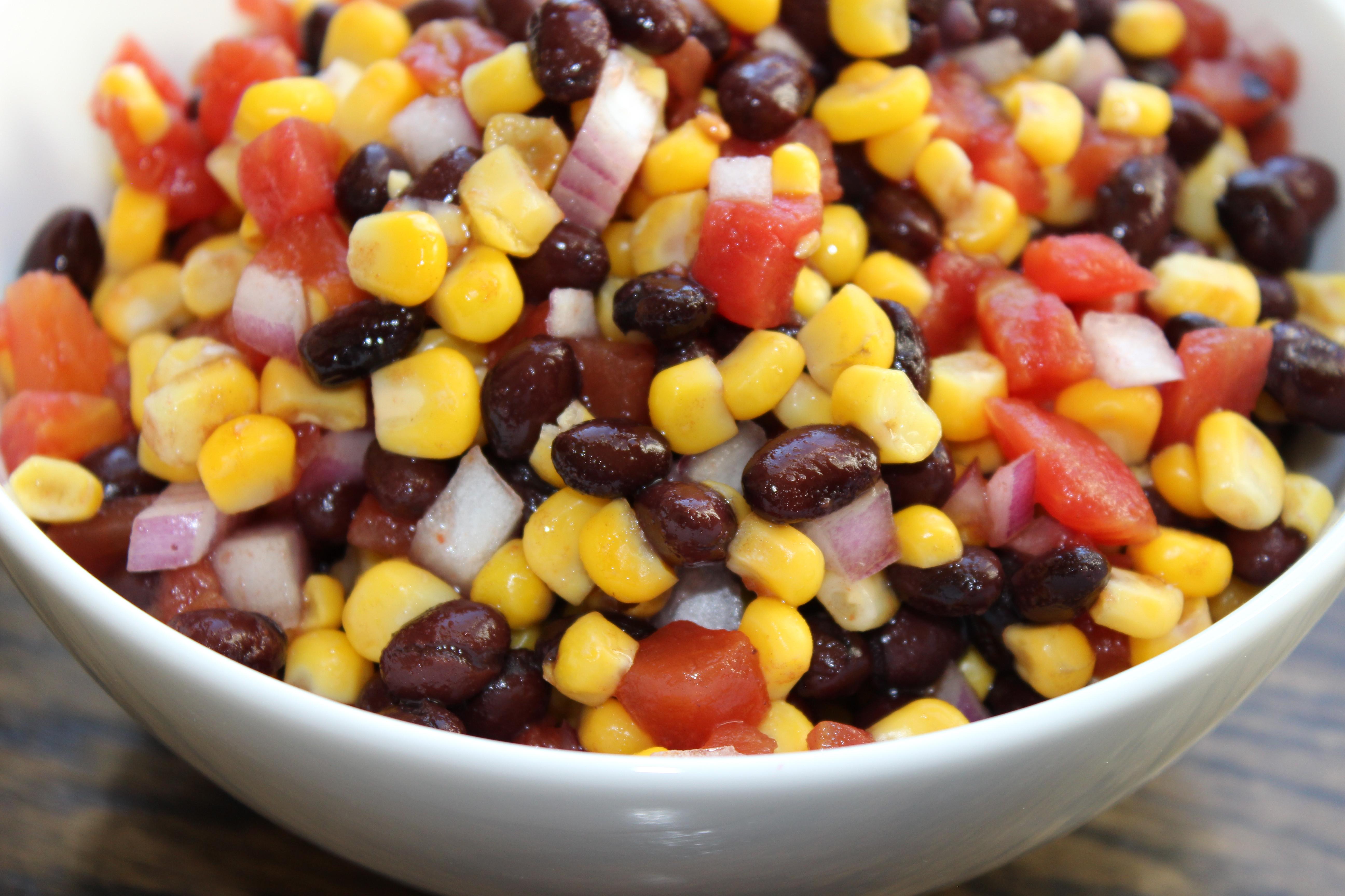 Black Bean Corn Salsa  Black Bean and Corn Salsa Mitzi Dulan America s