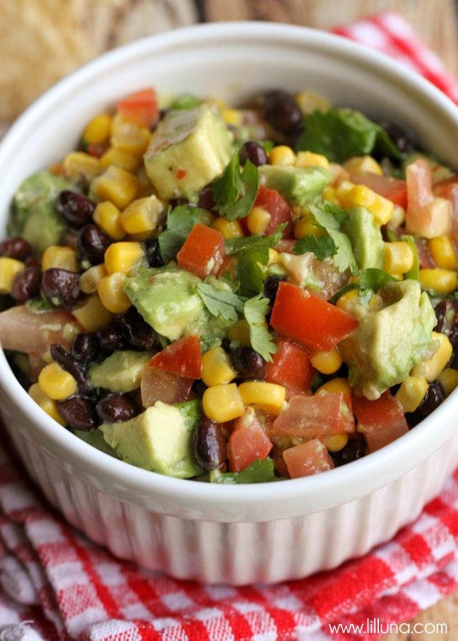Black Bean Corn Salsa  Black Bean and Corn Salsa