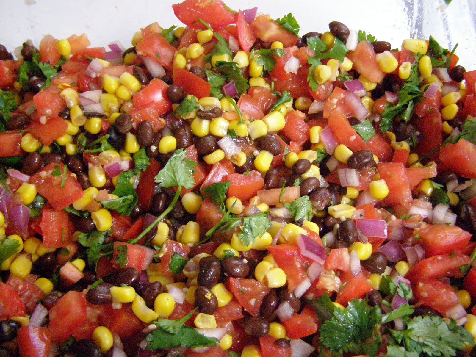 Black Bean Corn Salsa  Laced With Love Black Bean Corn Salsa
