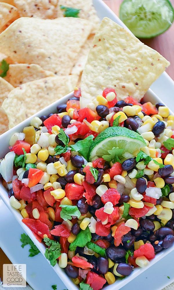Black Bean Corn Salsa  Corn and Black Bean Salsa