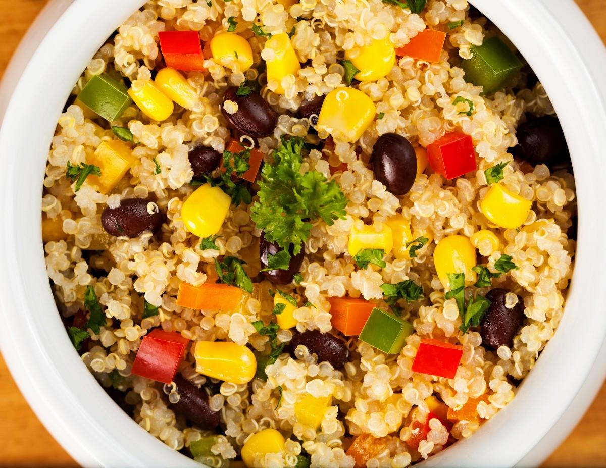 Black Bean Quinoa Salad  Black Bean and Quinoa Salad Yoffie Life