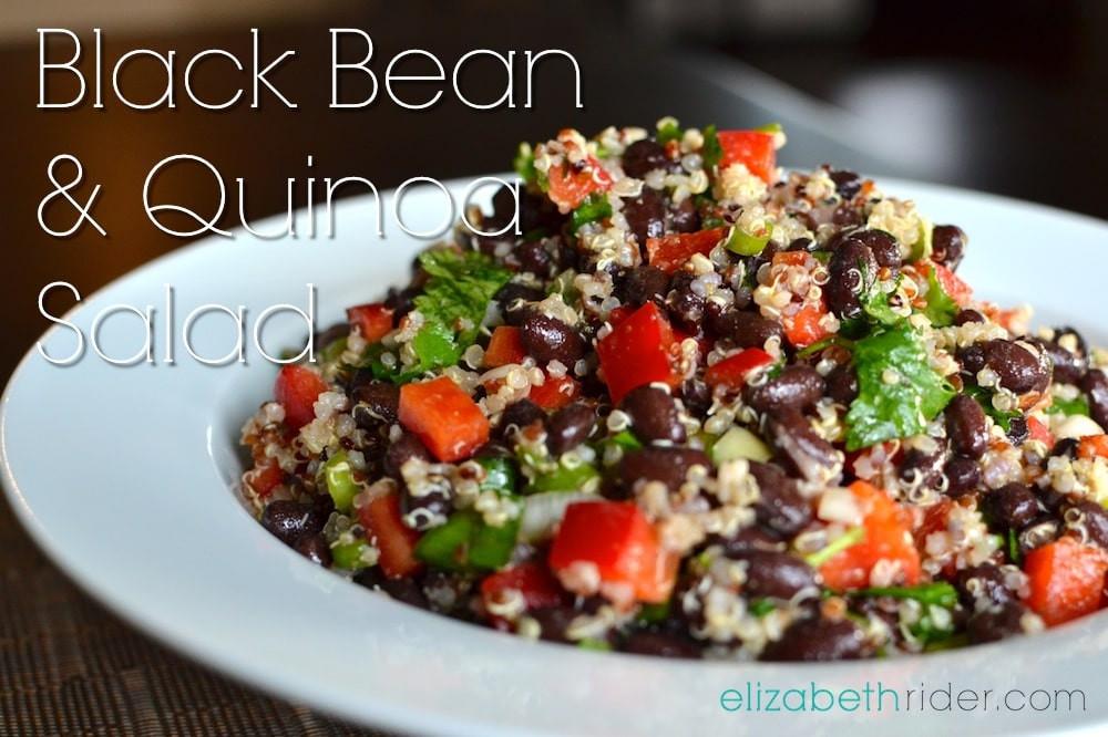 Black Bean Quinoa Salad  Superfood Black Bean & Quinoa Salad Recipe
