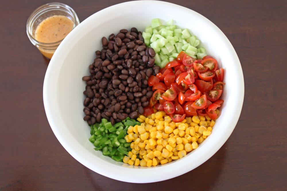 Black Bean Salad Recipes  Black Bean and Corn Salsa Salad Recipe Runner