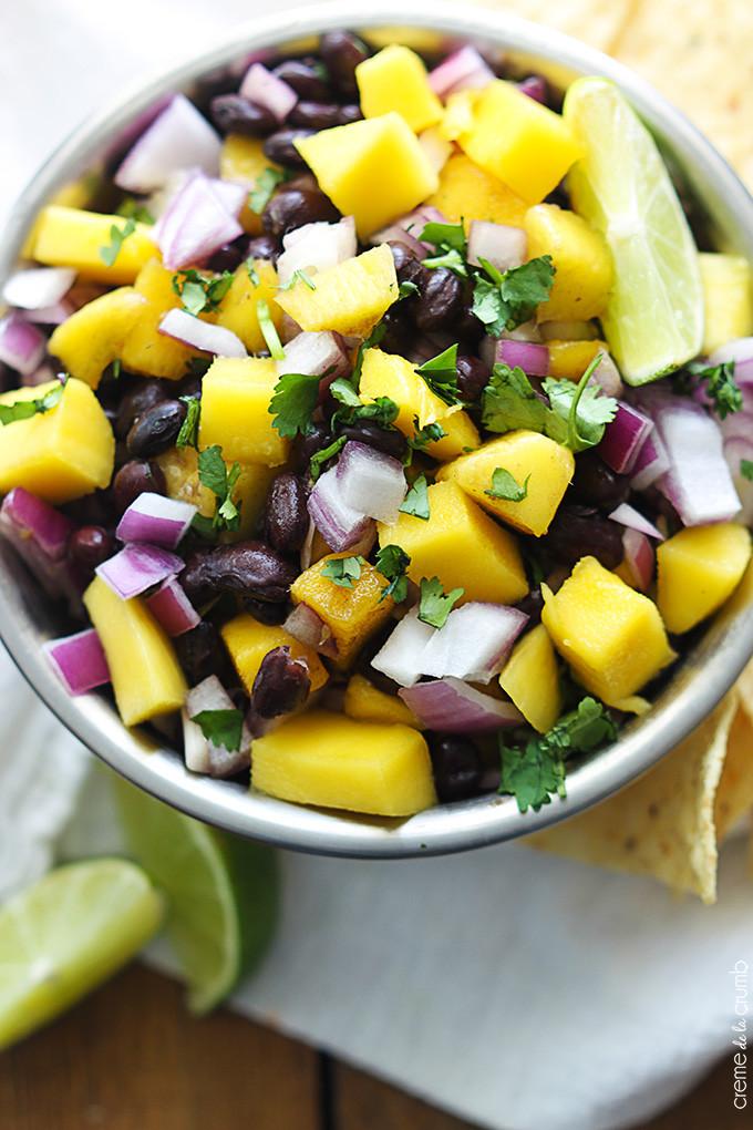 Black Bean Salsa Recipe  black bean salsa recipe easy