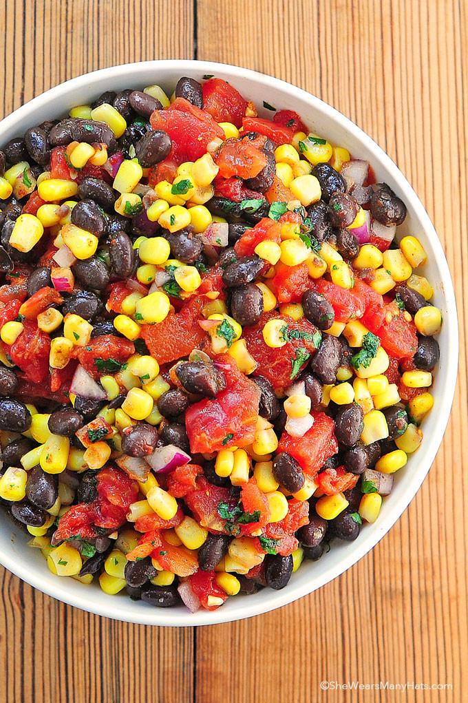 Black Bean Salsa Recipe  Black Bean and Corn Salsa Recipe