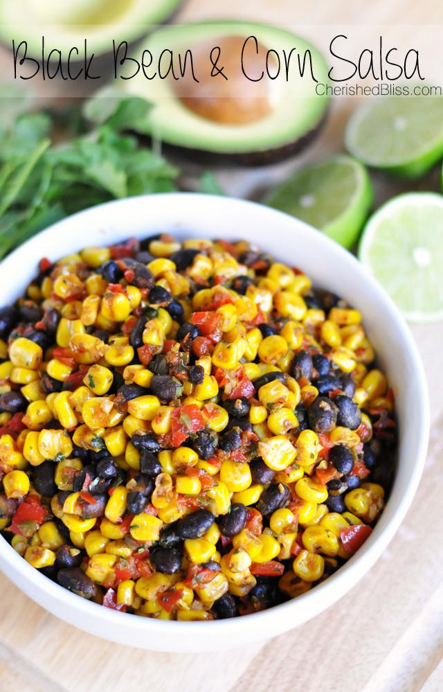 Black Bean Salsa Recipe  black bean salsa recipe