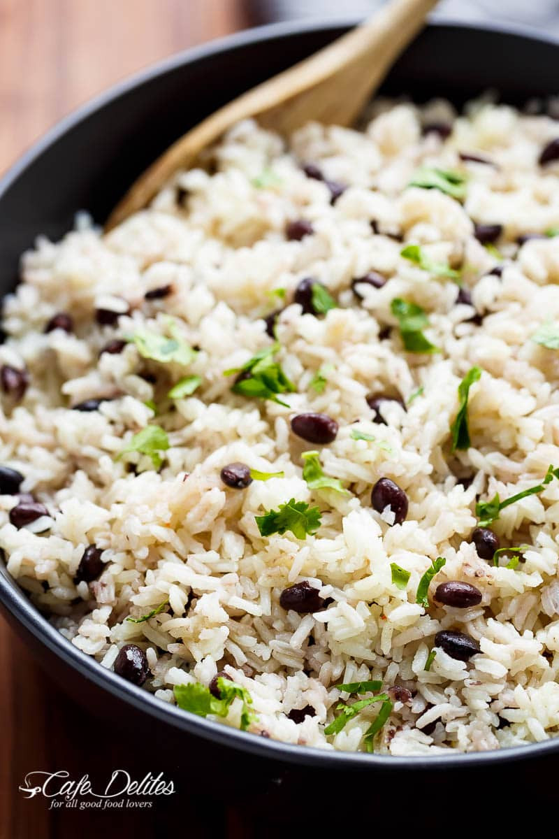 Black Beans And Rice  Black Beans & Rice Recipe TheDirtyGyro