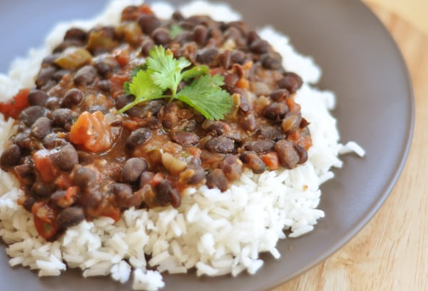 Black Beans And Rice  Classic and Simple Black Beans and Rice