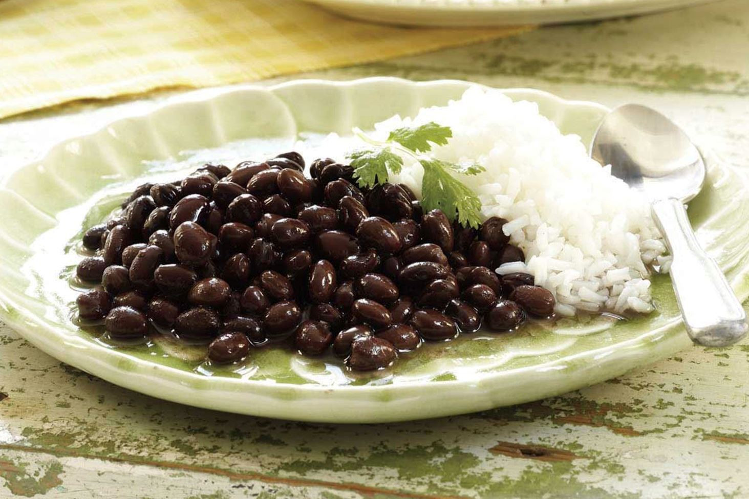 Black Beans And Rice  Rice with Black Beans