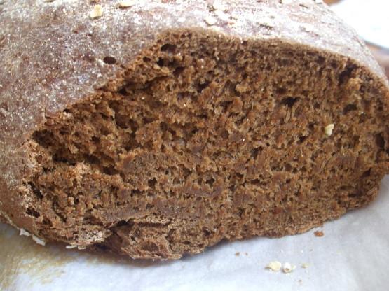 Black Bread Recipe  black rye bread recipe
