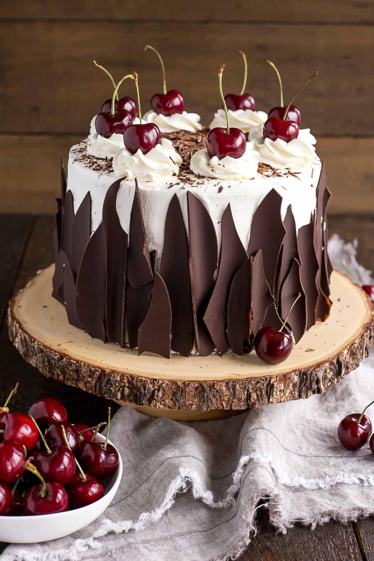 Black Cake Recipe  Black Forest Cake Liv for Cake