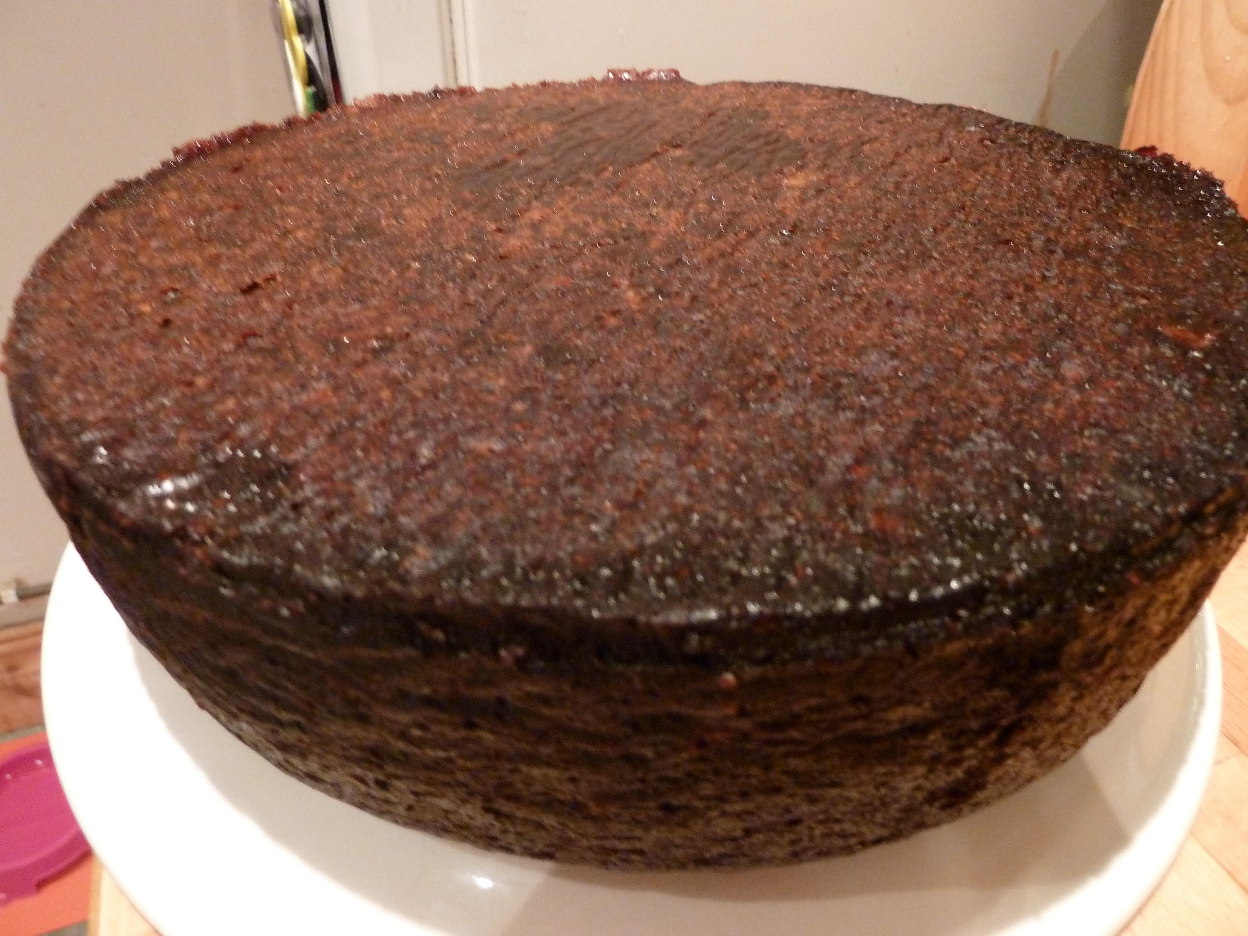 Black Cake Recipe  bundt jamaican black cake