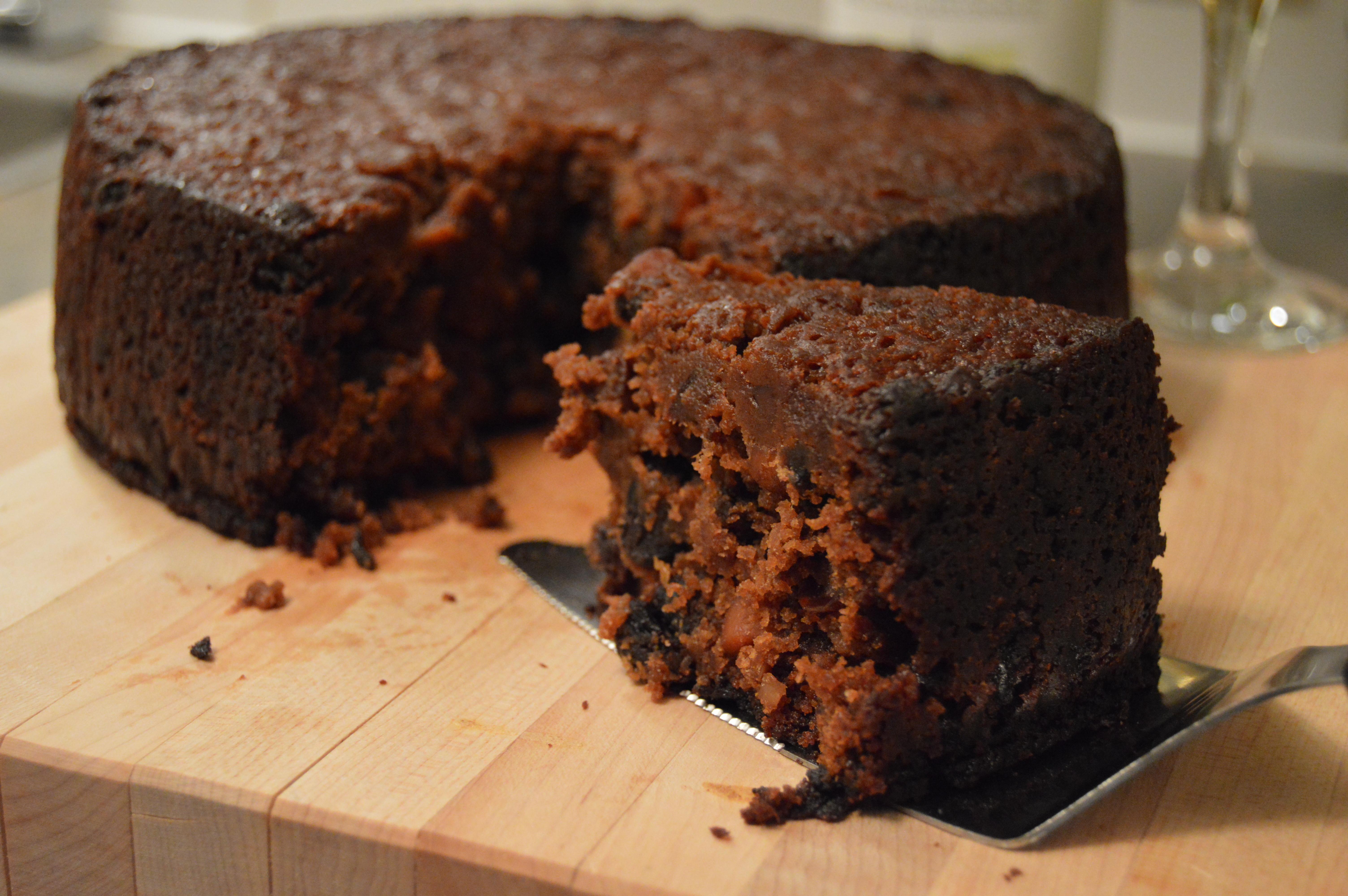 Black Cake Recipe  Fruitcake Taste Test Christmas 2014 – Grated Nutmeg