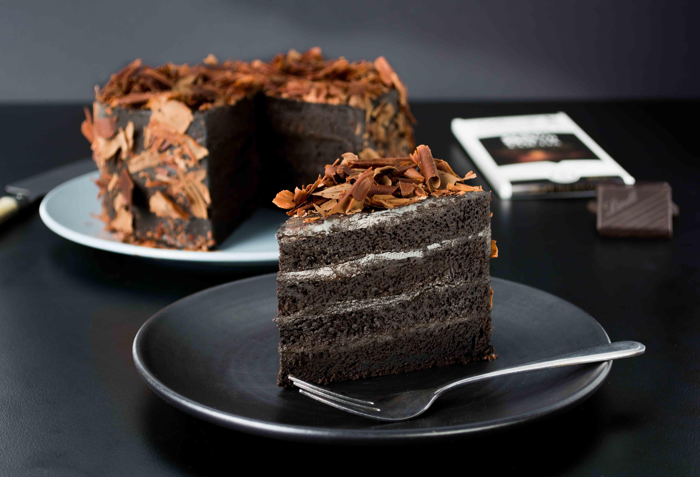 Black Cake Recipe  Black Velvet Cake Delectable Lindt Recipes