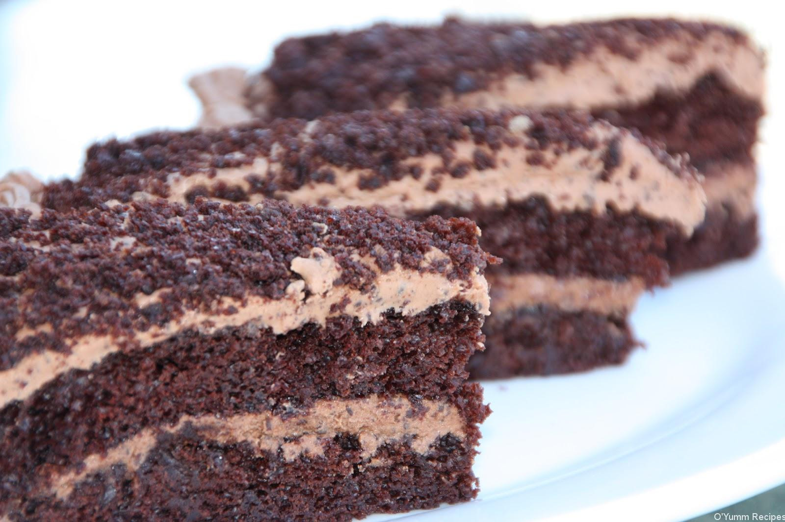 Black Cake Recipe  Black Magic Cake Recipe