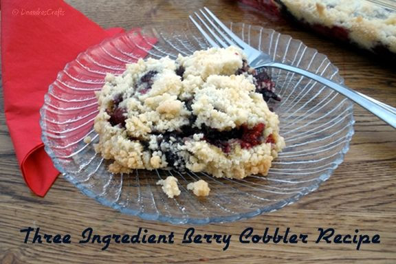 Blackberry Cobbler With Cake Mix  Sunset Coast Summer Fruit Crisps and Cobblers