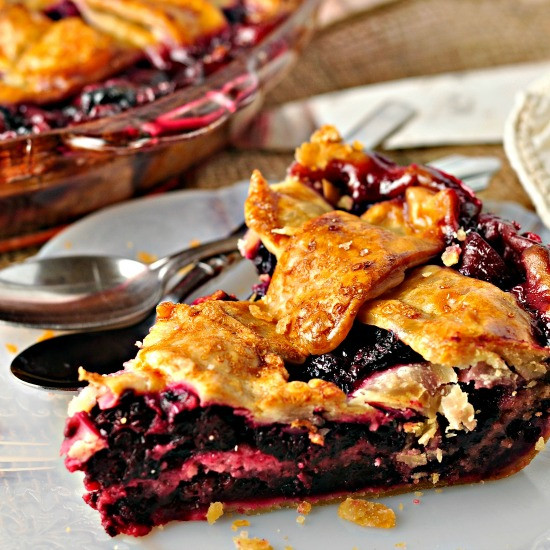 Blackberry Cobbler With Pie Crust  Foodista