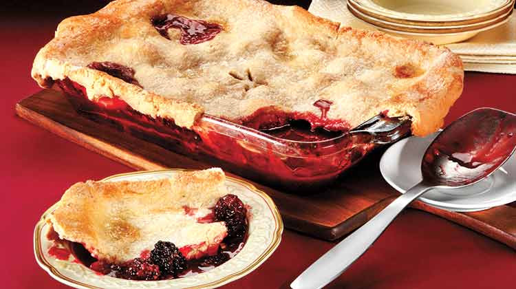 Blackberry Cobbler With Pie Crust  Spices at Penzeys